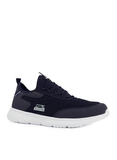 Slazenger Slazenger GENOA Sneaker Erkek Ayakkabı Haki Lacivert
